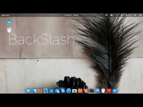 New: BackSlash Linux - Elsa - Full Preview