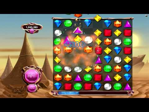 Bejeweled 3 - New High Score in Classic Mode (Record DOOMED!)