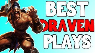 [LOL] How to draw first blood Draven playing pasive!