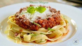 Fettuccine Bolognese – Bruno Albouze – THE REAL DEAL