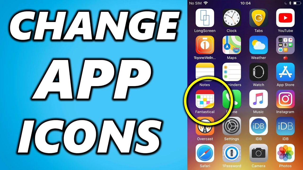 How To Change App Icons On Iphone 2020 Trick Youtube