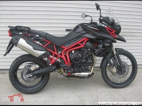 2014 Triumph Tiger 800 XC SE - YouTube