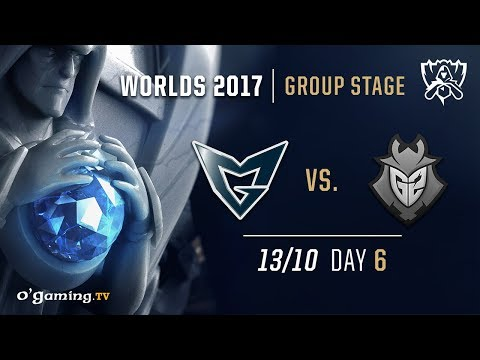 Samsung Galaxy vs G2 - World Championship 2017 - Group Stage - Day 6 - League of Legends