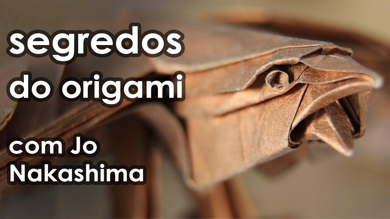 Segredos do ORIGAMI ft. Jo Nakashima  ????Manual do Mundo