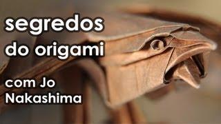 Segredos do origami com Jo Nakashima