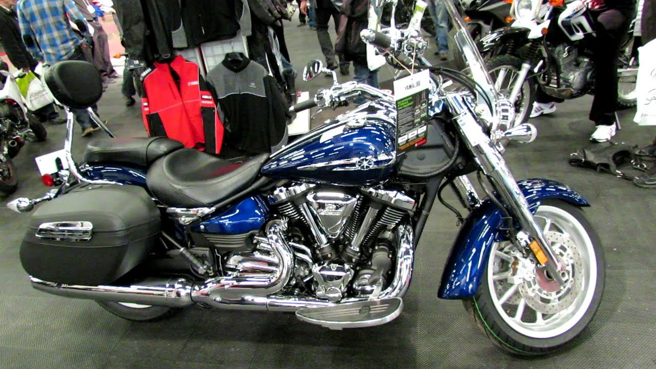2013 Yamaha Stratoliner S - Walkaround - 2013 Montreal Motorcycle ...