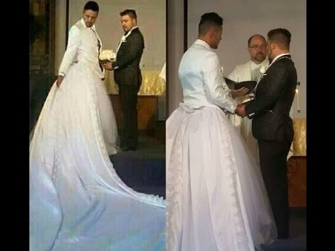 Man's Wedding Dress