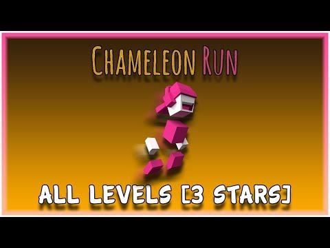 Chameleon Run Deluxe Edition - All Levels [3 Stars]  
