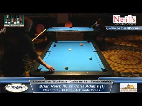 Diamond Pool Tour Finale - Brian Reich vs Chris Adams