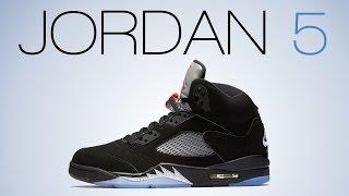 air jordan 5 black metallic 2016 unboxing video 8