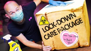 We Bought Each Other Lock-Down Care Packages!