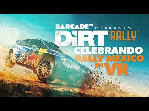 Celebrando Rally México en VR