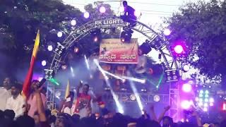 Karnataka rajyotsava Belagavi 2017 | gandhinagar dj akshay pune | rk lights 2k17