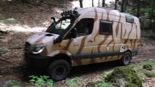 Mercedes-Benz Sprinter CBONE špeciál 4x4 MIL (VIDEO FULL HD)(www.cbone.sk., 2016-10-26T17:09:50.000Z)