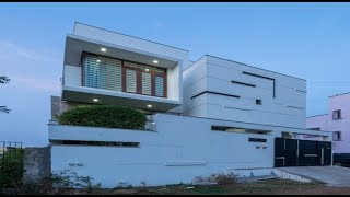 Modern Contemporary Style Courtyard House 1600 Sft for 16 Lakh | Elevation | Interior