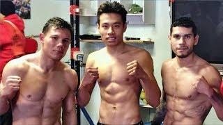 Тренировка СВЕРХБЫСТРОГО боксера