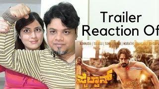 #KichchaSudeepa #Pailwaan Teaser Reaction Kannada 2019|Foreigner Reaction|North Indian Reaction|