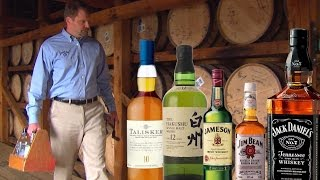 The real difference betẁeen scotch, whiskey, and bourbon