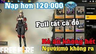Free Fire | Phát Sốt Với Nik Khủng Đầu Tư Hơn 120.000 Kim Cương Full | Meow DGame