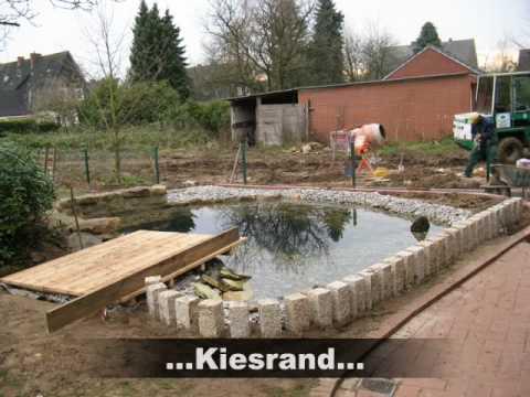 Ecolat und ecopic einfassung f r teichr nder und garten for Teichanlage selber bauen