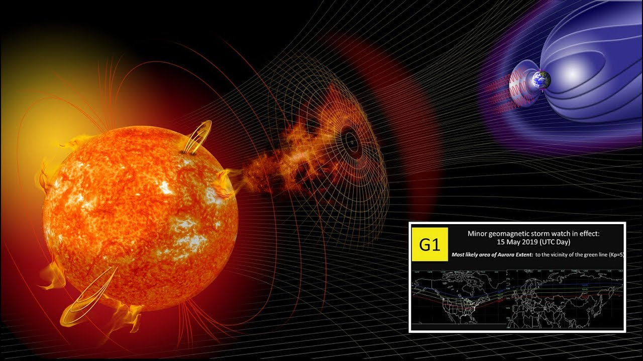 solar storm vs geomagnetic storm - photo #2