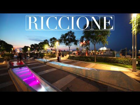 Riccione by night - Viale Ceccarini