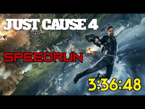 Just Cause 4 - Speedrun - Any% - 3:36:48