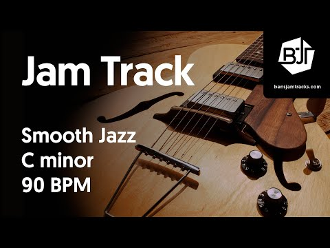 Smooth Jazz Jam Track in C minor 90 BPM