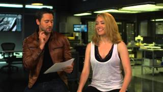 The Blacklist Season 3: Ryan Eggold & Megan Boone Premiere Episode TV Interview