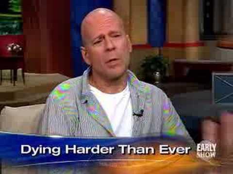 Bruce Willis 'Lives Free' (CBS News)