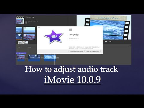 How to adjust audio in iMovie 10.0.9