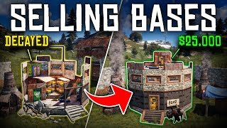 SELLING DECAYED BASES to RICH PLAYERS for PROFIT  - Rust Shop Roleplay