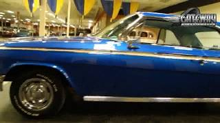 1962 Chevy Impala hardtop for sale at Gateway Classic Cars in our St. Louis showroom