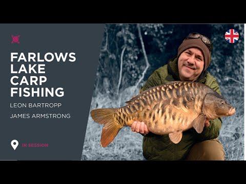 ***Carp Fishing TV*** Spring Carp Fishing Session At Farlows Lake 2- Leon Bartropp & James Armstrong