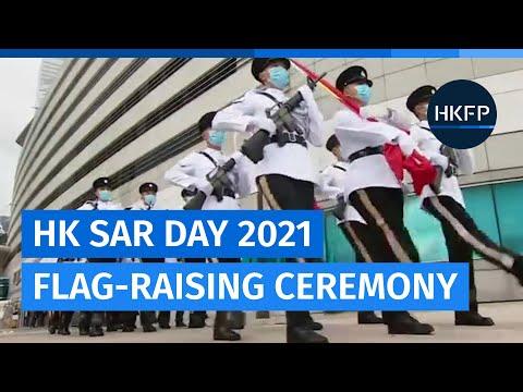 Flag-raising ceremony for Hong Kong SAR Establishment Day 2021