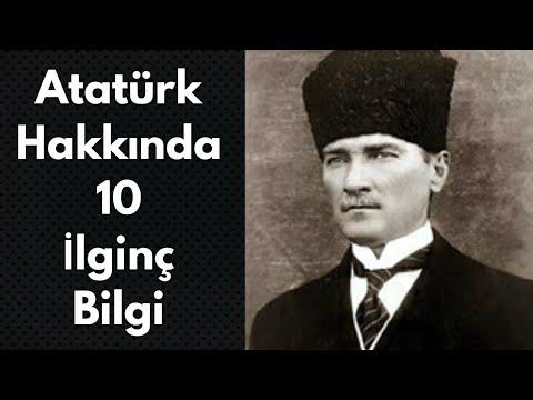 Atatürk Hakkında 10 İlginç Bilgi