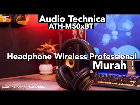 Headphone Monitoring Professional ! Audio Technica ATH-M50xBT - Indonesia By ITechlife