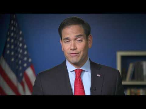 See Senator Marco Rubio's taped speech shown at Republican National Convention (video)