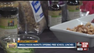 Whole Foods Offering Free Lunches