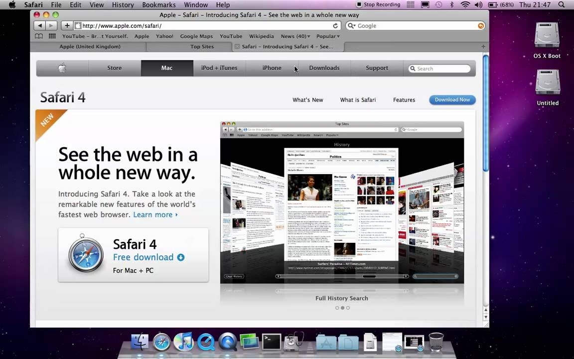 Safari 5. 1. 10 download for mac / filehorse. Com.