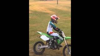 Kx85 riding and practice