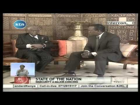 Jeff Koinange Live with Charles Njonjo on The State of The Nation, Part 1