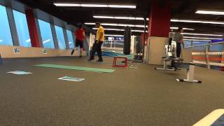 Martin's attempt at Dubai Fitness Competition, Fitness First Motor City