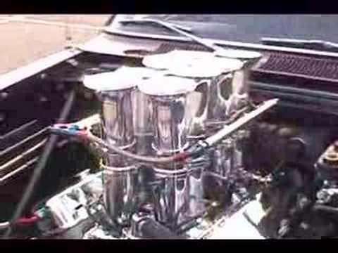Kinsler Big Block Chevrolet Injection On Chevy Ii Youtube