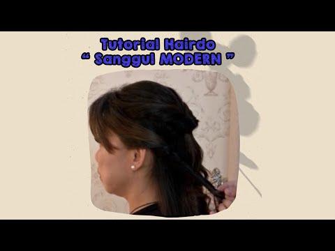 Tutorial Hair Do Sanggul Modern Youtube