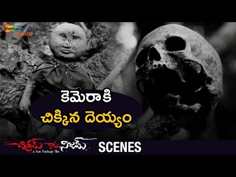 Real Ghost Caught on Camera | Chitram Kadhu Nijam Movie Scenes | Darshan | Pallavi | Shemaroo Telugu