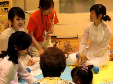 Giới thiệu trò chơi dân gian của trẻ em Việt Nam tới dân Nhật