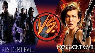 [Игра VS Фильм] Resident Evil 6 | Обитель Зла: Последняя глава