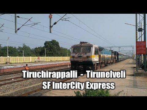 22628   Tirunelveli - Tiruchirappali SF Intercity Express   Fastest Crossing Near kodaikanal road