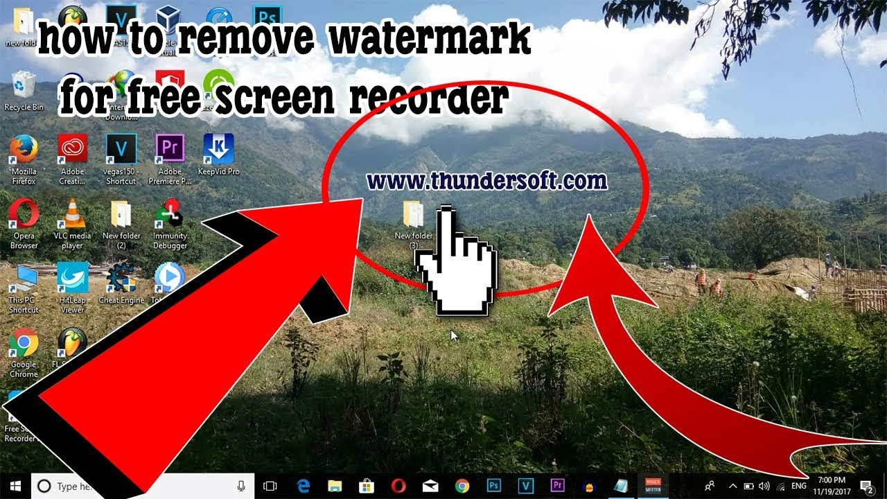 How to remove watermark from Free Screen Recorder 6 5 0 for FREE?